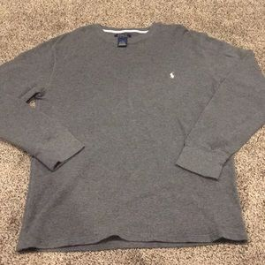 Thermal Long sleeve Polo by Ralph Lauren shirt